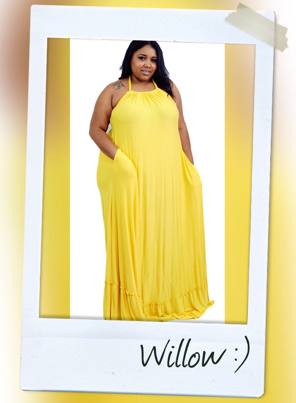 WILLOW MAXI DRESS - Slayven Boutique
