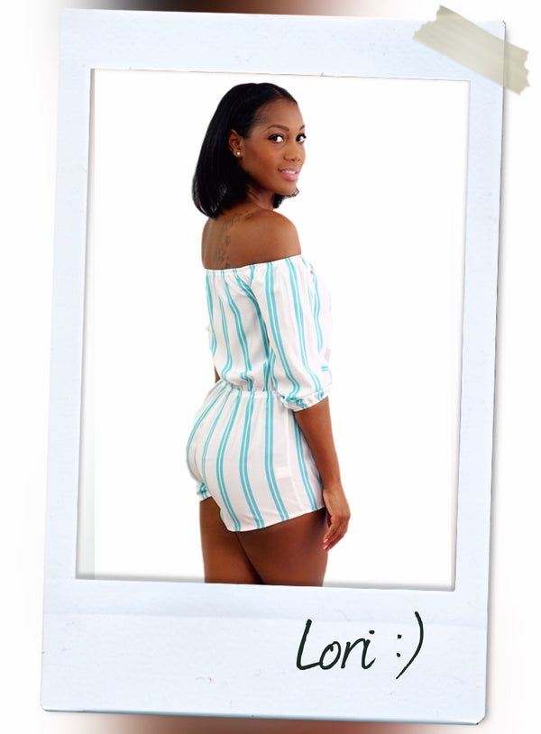 LORI ROMPER - Slayven Boutique