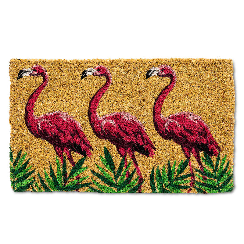 FLAMINGO TRIO DOORMAT