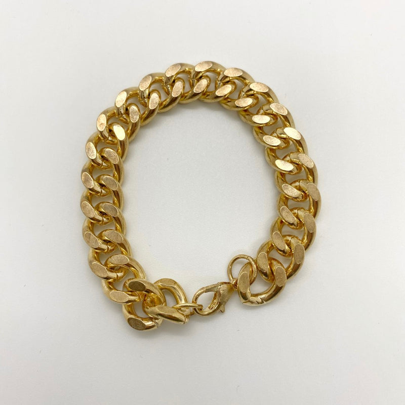 GOLD PLATED CHAIN BRACELT