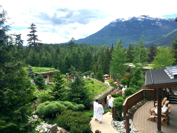 Scandinave Spa Whistler: Luxury spa day on the cheap