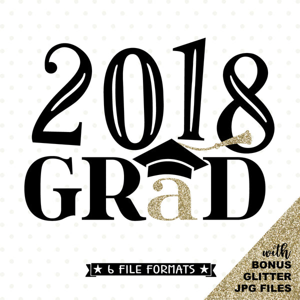 2018 Graduation iron on transfer printable