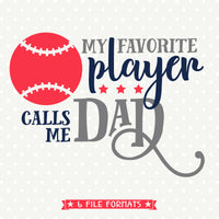 baseball Dad cut file designed by Queen SVG Bee