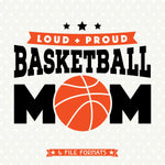 Basketball Mom SVG cut file