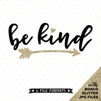 Be Kind die cut