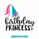 Birthday Girl vinyl shirt design