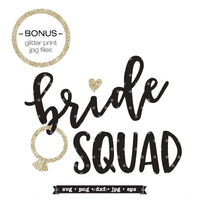 svg design for bridal party