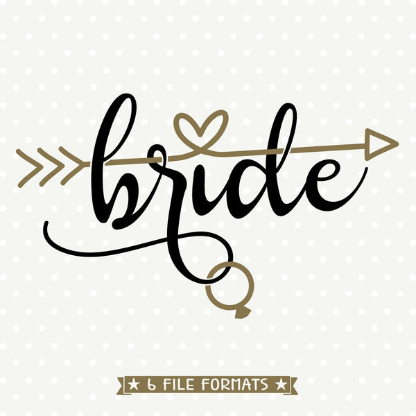 bride svg file