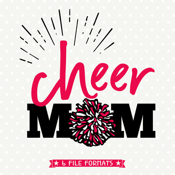 Cheerleading Mom Shirt svg