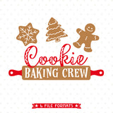 GIngerbread Cookie svg cut file