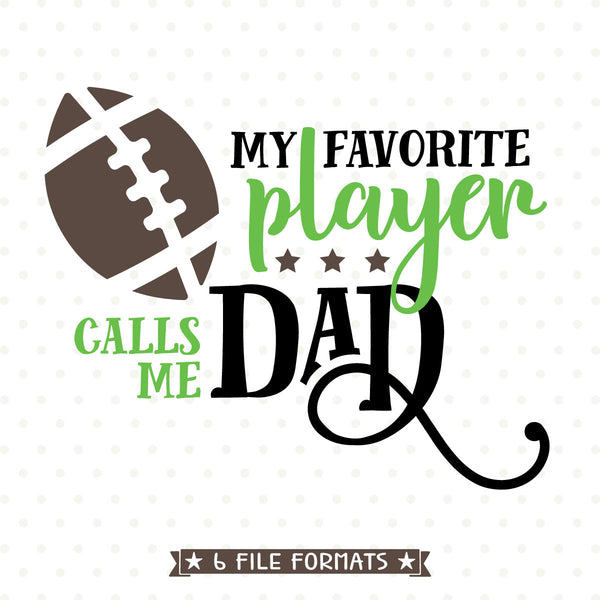 Football Dad vinyl cut file