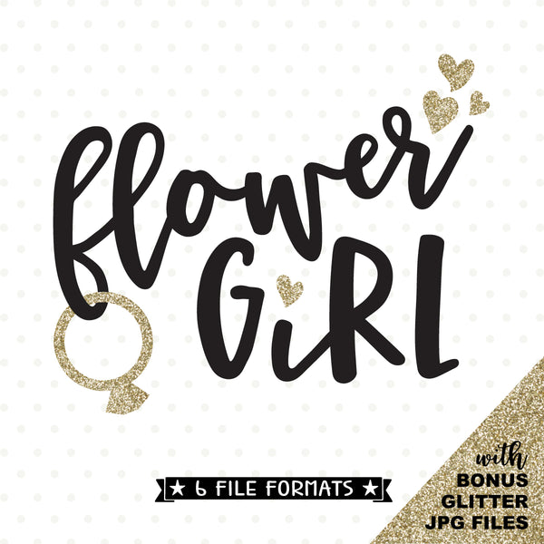 Flower Girl heat transfer design
