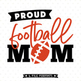 Football Mom Iron on file