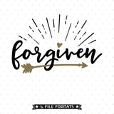 Forgiven Shirt SVG