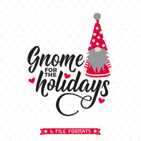 Gnome for the Holidays SVG file