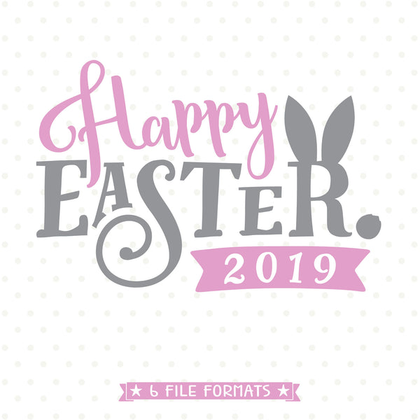 Easter Decor vinyl craft file