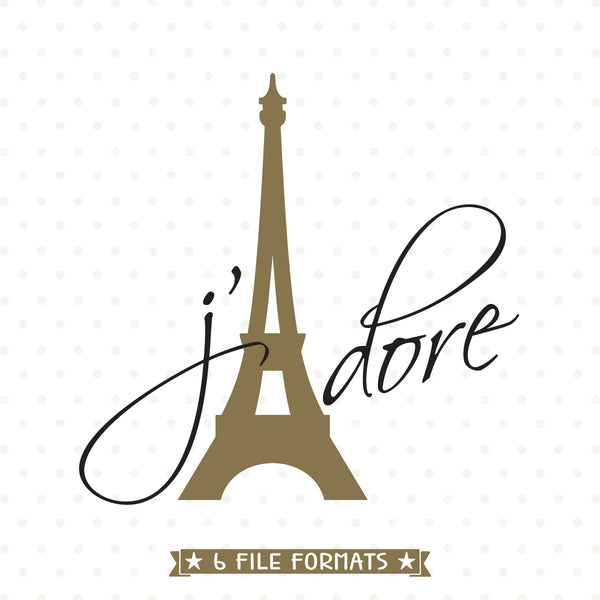 Eiffel Tower SVG file