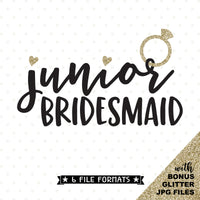 Bridesmaid cut file