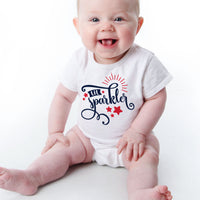 Fourth of July Sublimation design for Baby