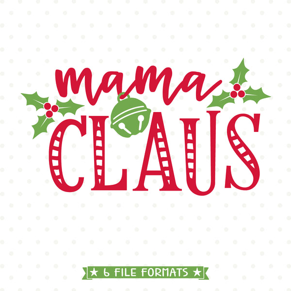 Mom Shirt Christmas SVG