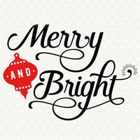 Holiday Decor vinyl craft file