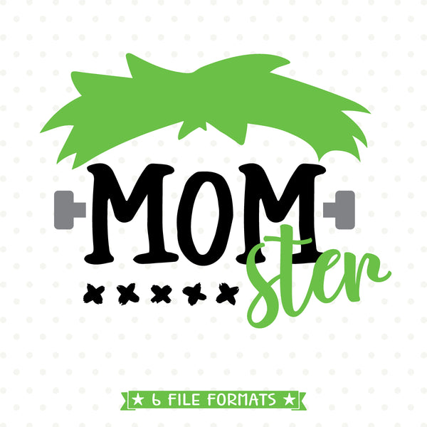 Mom Halloween Shirt SVG design