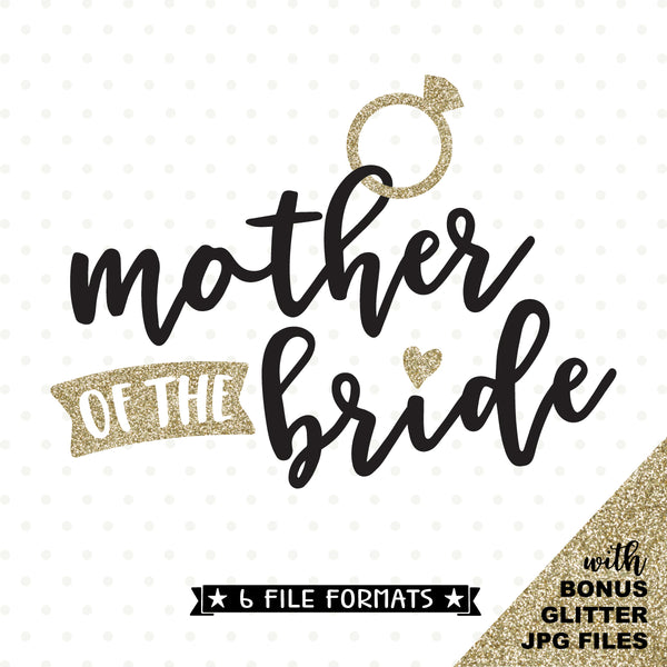 vinyl shirt design for Brides mom
