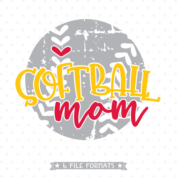 Softball Mom shirt design