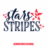 Stars and Stripes SVG design