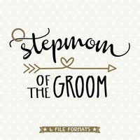 Bridal Party Gift SVG cut file