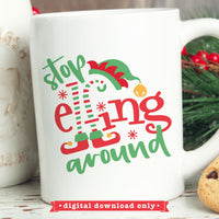 Funny Christmas svg