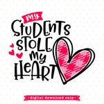 Valentine svg for teachers
