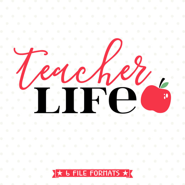 Teacher shirt svg design