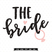 SVG for the Bride