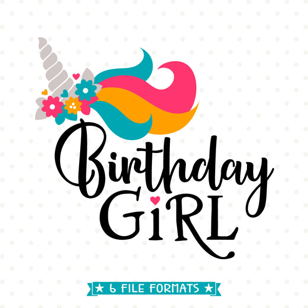 Girls Birthday Shirt Iron on file