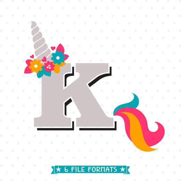 Letter K Monogram svg file