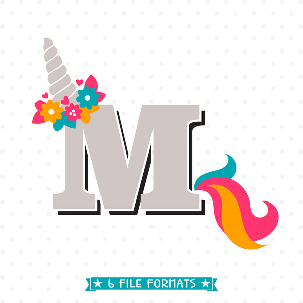 Unicorn SVG vinyl craft file