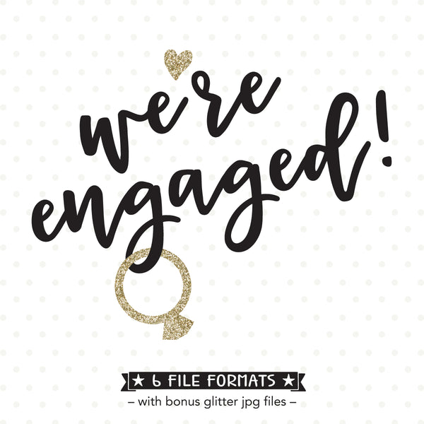 Engagement Party SVG design