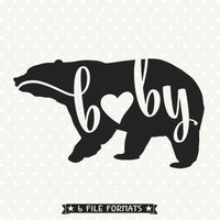 baby bear svg file