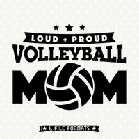 Volleyball vinyl cut file