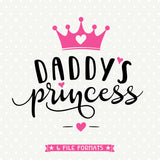 Daddys Princess SVG