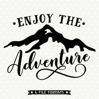 Adventure Quote SVG file
