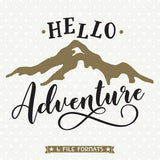 Adventure Quote SVG