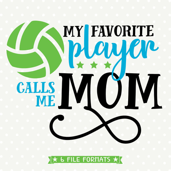 Volleyball Mom Shirt svg