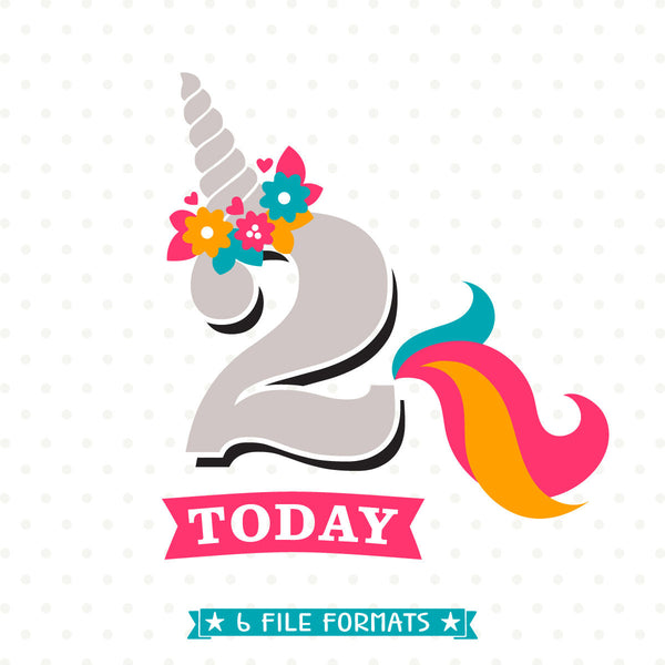 Unicorn Birthday Shirt svg