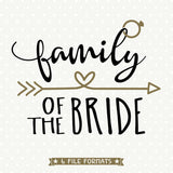Bridal Party Shirt SVG file