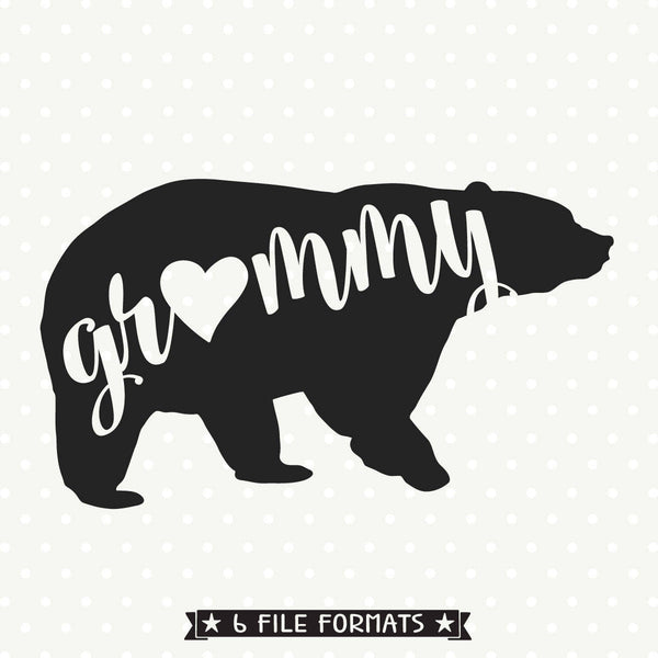 Bear Shirt SVG design