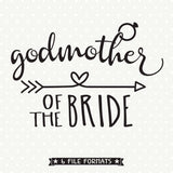 Bridal Party Gift SVG file