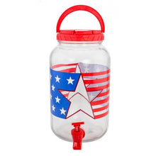 1 Gallon Patriotic Beverage Dispenser - Dan's Market Shop