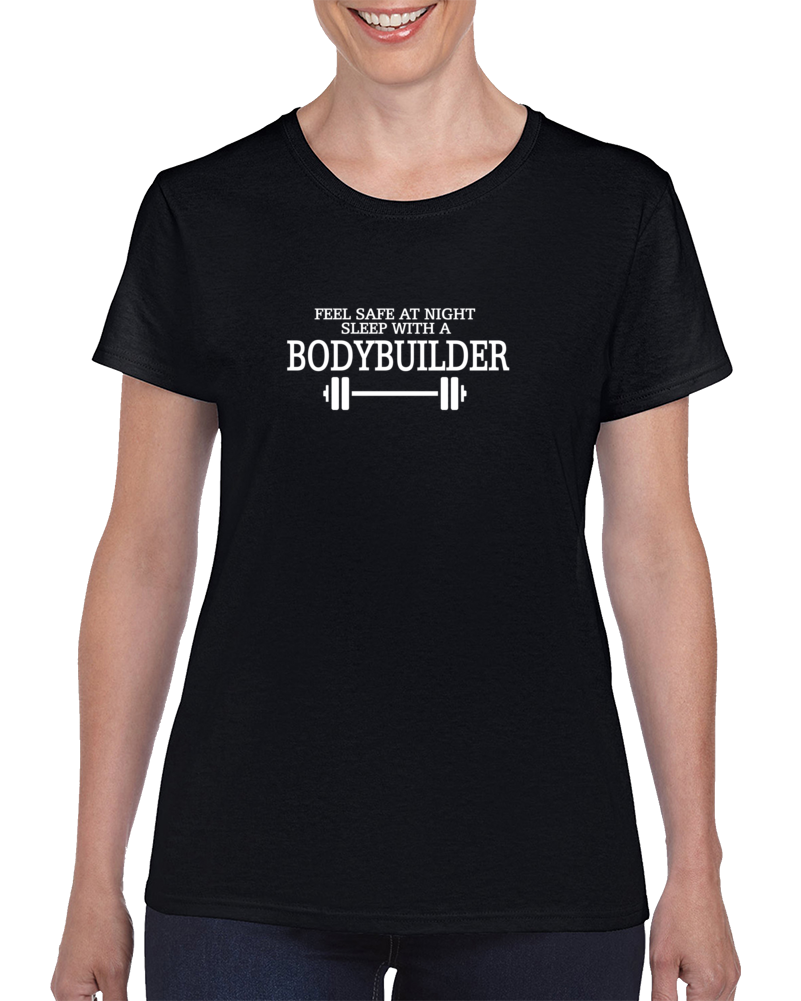 Ladies Bodybuilder T Shirt - Dan's Market Shop